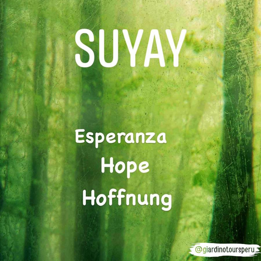 Quechua Travel Words