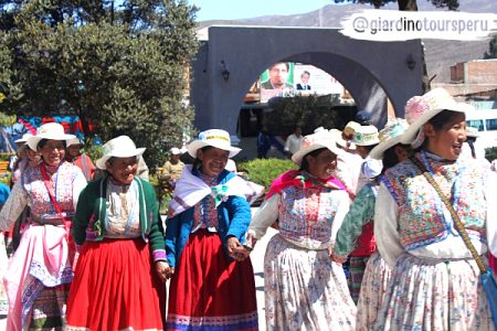 Colca Valley- embroidery